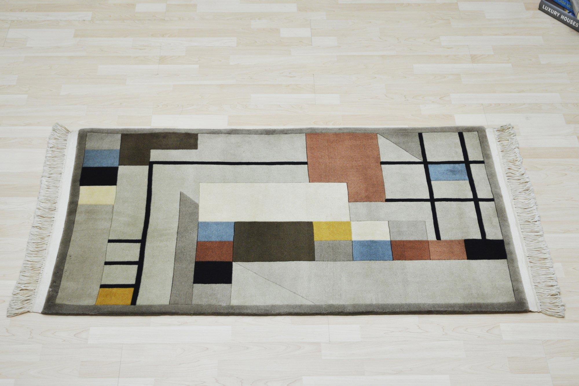 Χειροποίητο Χαλί Modern Wool 92Χ152 70X150