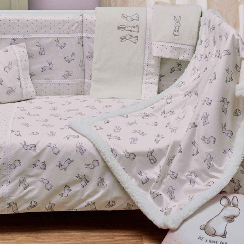 Κουβέρτα Βρεφική με Γούνα Lucky Pink Kentia Κούνιας 110x140cm