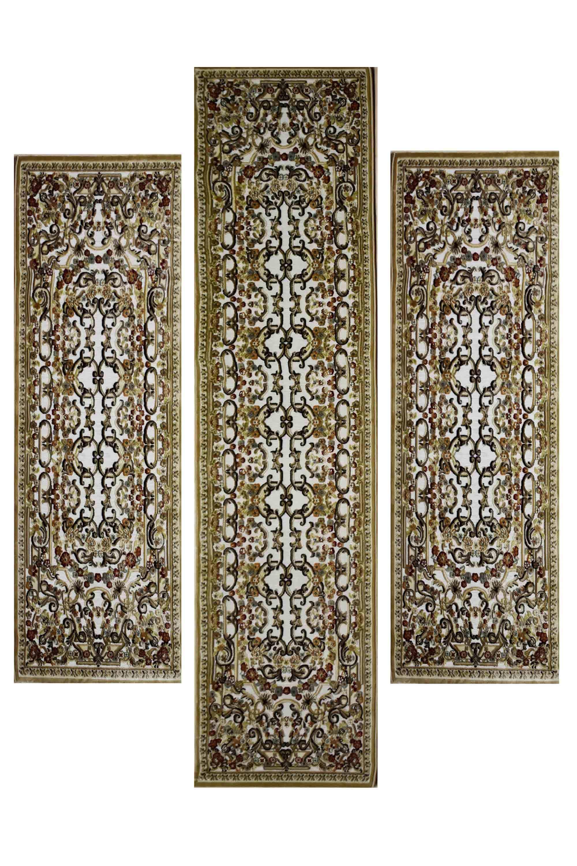 Χαλί Luxury 12593-670 Gold-Ecru SET