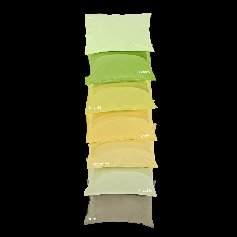 Σεντόνι Unicolor Pistachio Με Λάστιχο Nima Υπέρδιπλo 160x200cm