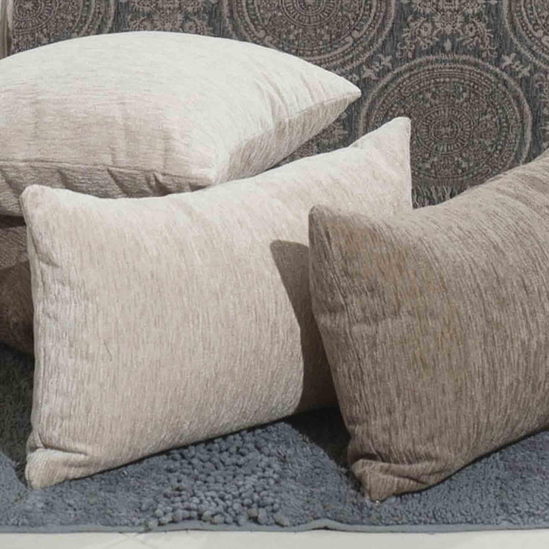 Διακοσμητικό Μαξιλάρι (Με Γέμιση) Solid Moca Teoran 45X45 Ακρυλικό-Polyester