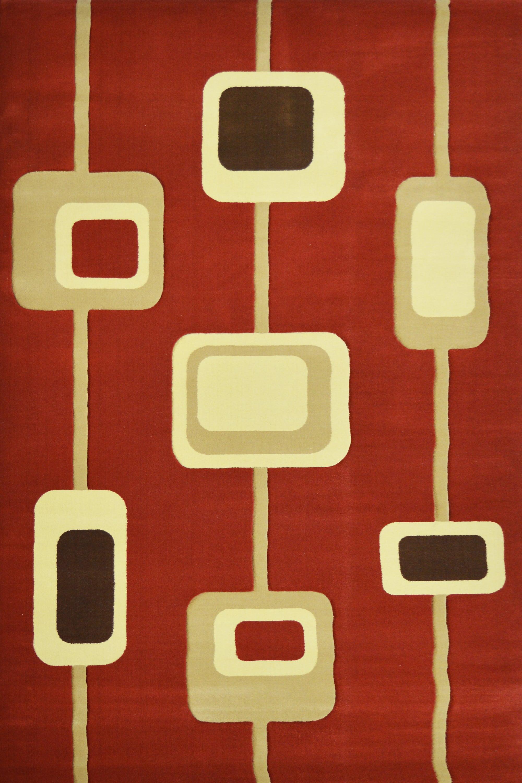 Χαλί Caprice 5219 Terracotta 70X150