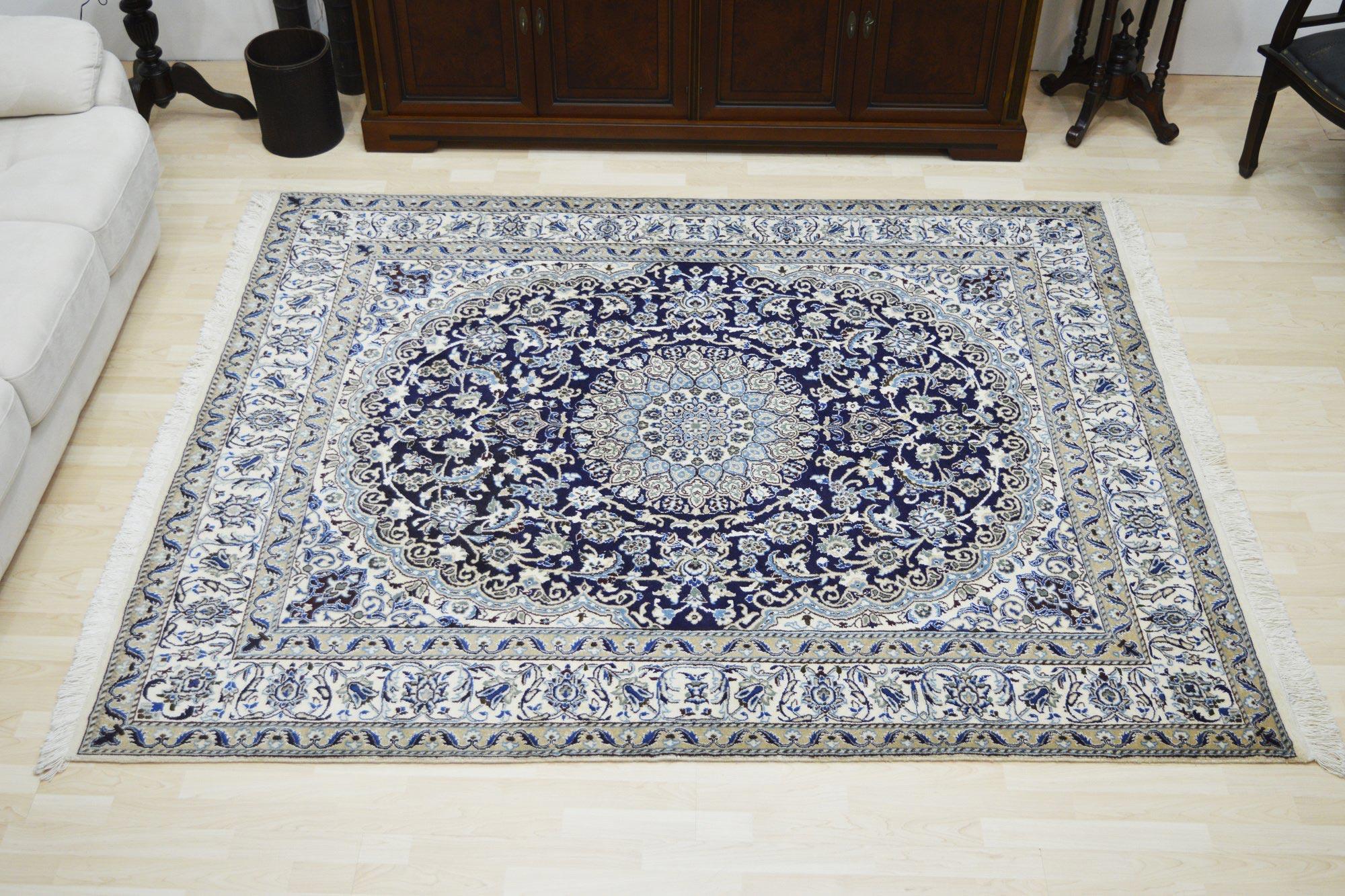 Χειροποίητο Χαλί Persian Nain Wool-Silk 248Χ198 200X250