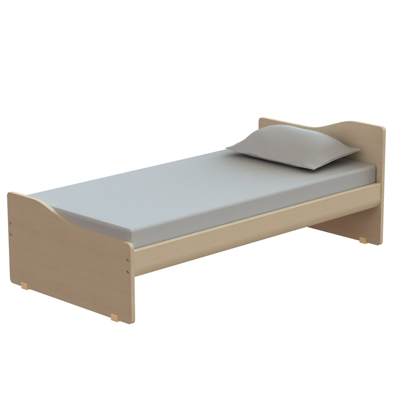 Κρεβάτι Παιδικό Tetra Oak Natural 207X100 cm Μονό