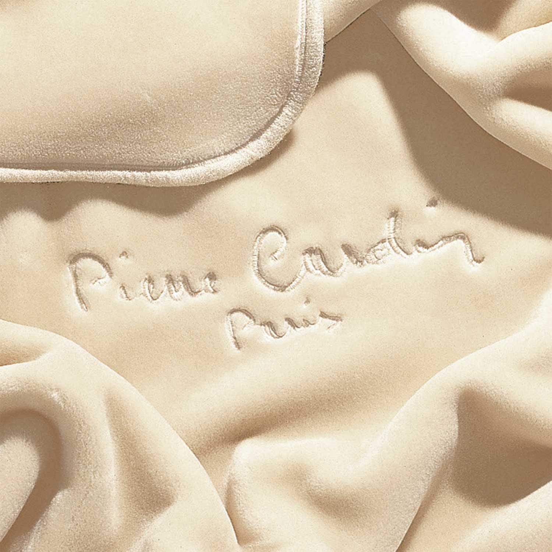 Κουβέρτα 545 Beige Pierre Cardin Υπέρδιπλo 220x240cm