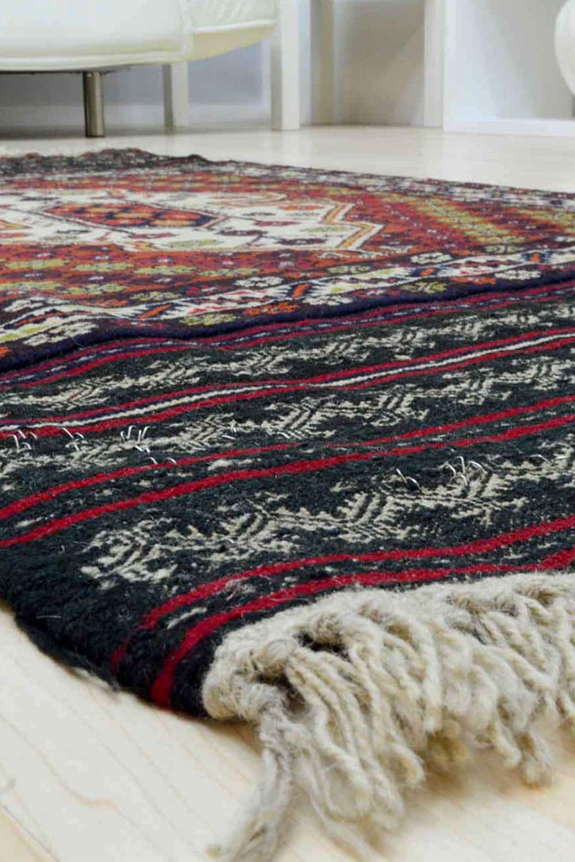 Χειροποίητο Χαλί Persian Nomadic Kilim Beloutch 155X88 70X150