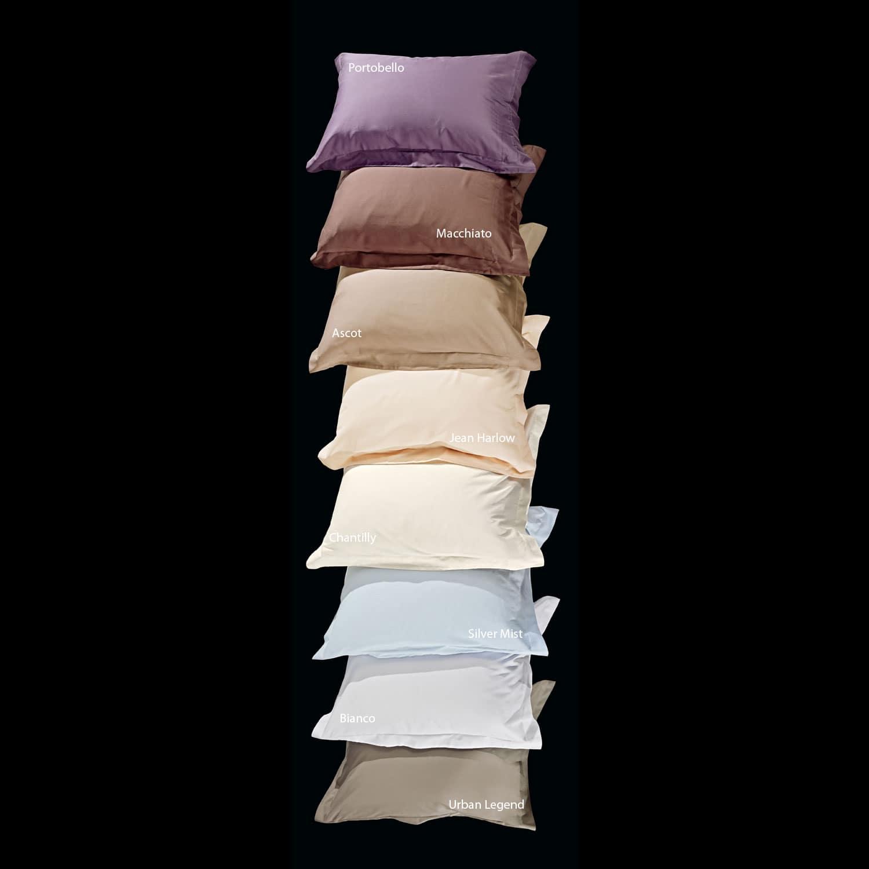 Μαξιλαροθήκη Σετ 2τμχ Superior Ivory Nima 50Χ70 50x70cm