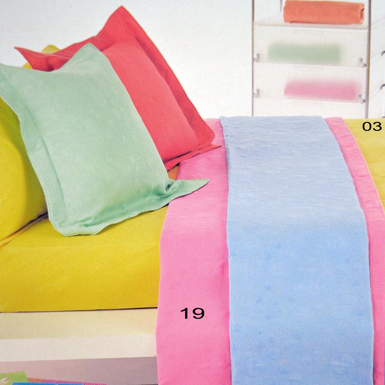 Κουβέρτα Colori 03 Yellow Kentia Υπέρδιπλo 230x260cm