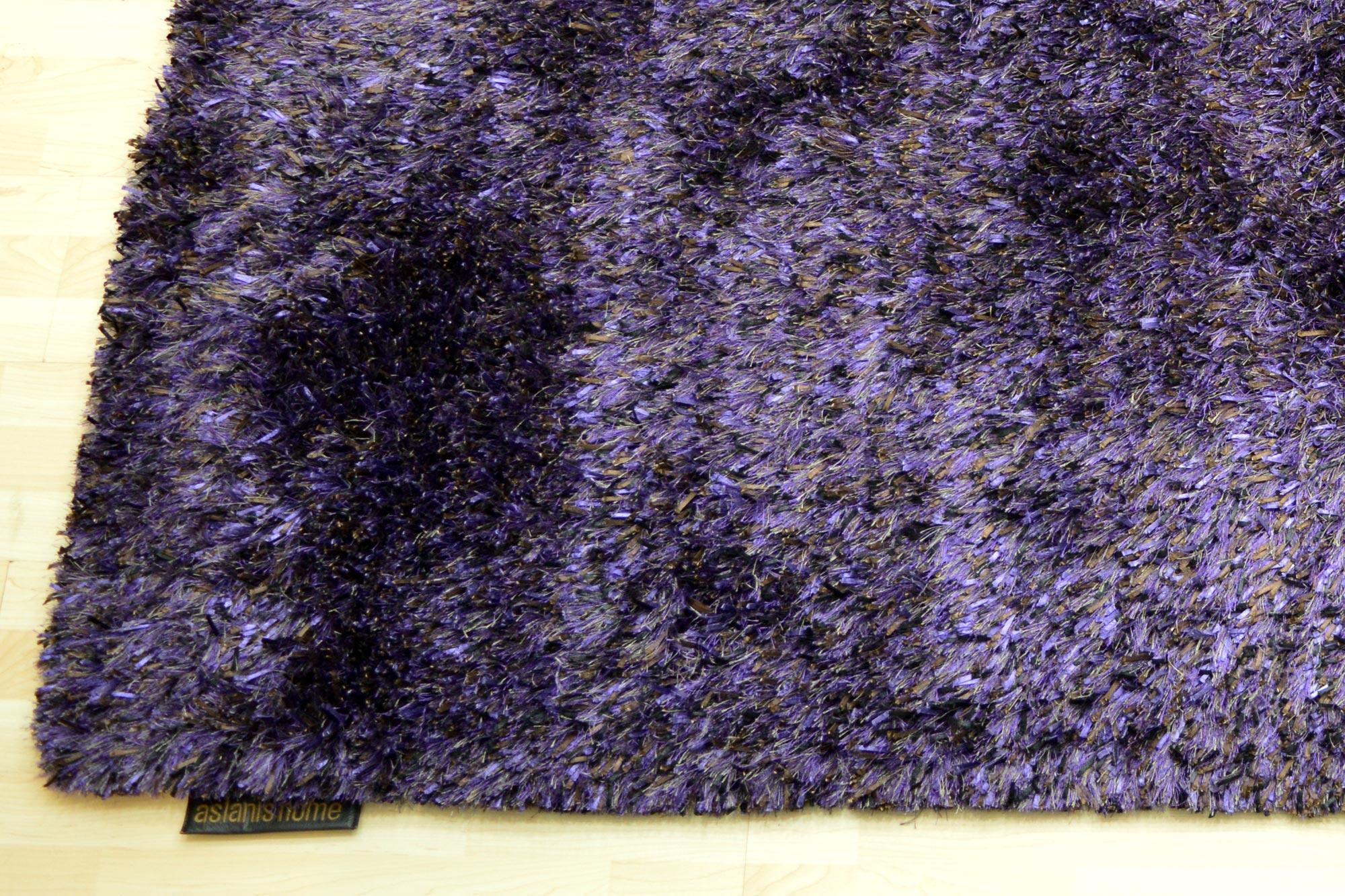 Χαλί Aslanis Shaggy Romance Purple 140X200