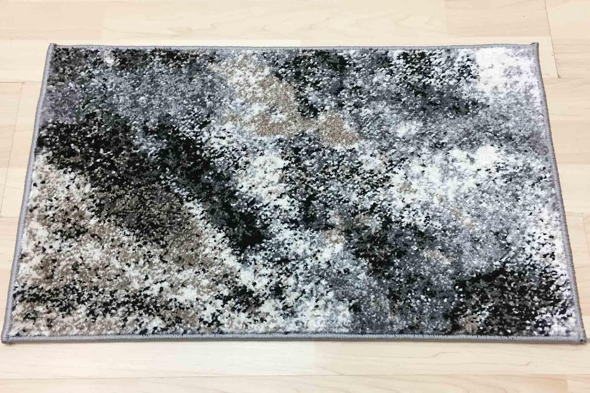 Μοκέτα Chicago 835 Bone-Dark Grey 400X…