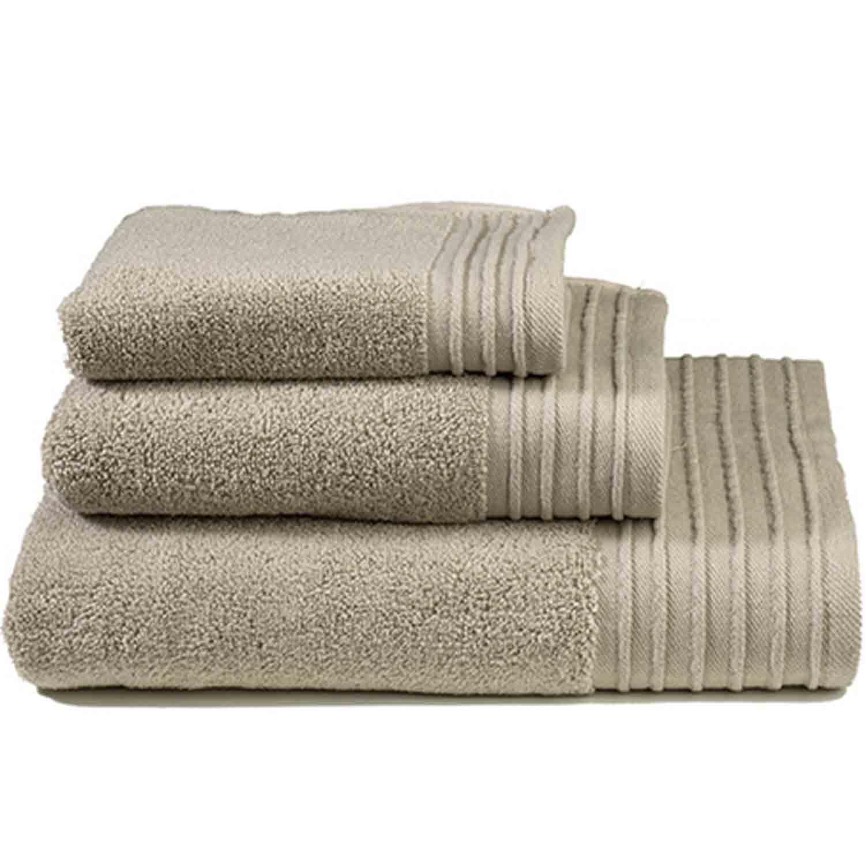 Πετσέτα Feel Fresh Dark Beige Nima Προσώπου 50x100cm