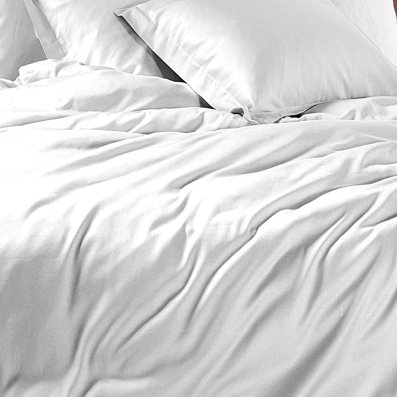 Σεντόνια Santiny White Nef-Nef Υπέρδιπλo 240x260cm