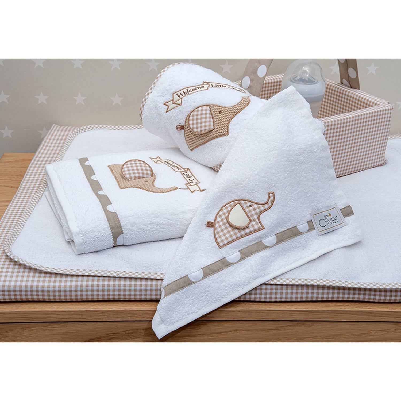 Βρεφικές Πετσέτες Σετ Des.302 Welcome Little One Baby Oliver Σετ Πετσέτες