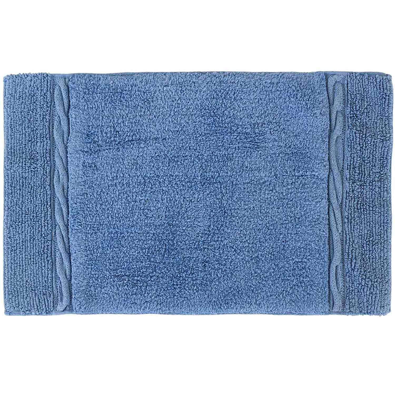 Πατάκι Μπάνιου Sifnos 05545.002 Blue Medium 50x80cm