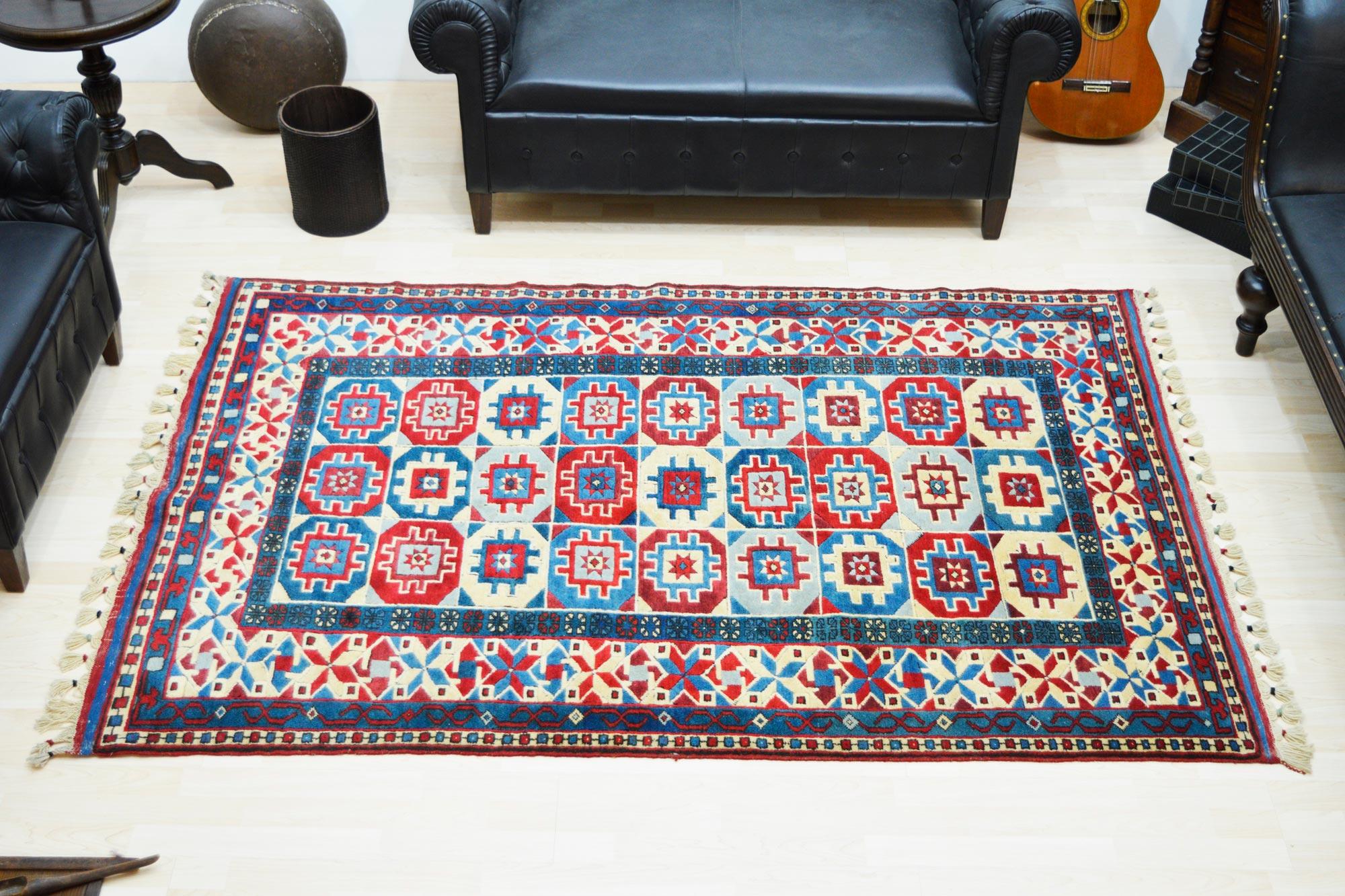 Χειροποίητο Χαλί Turkish Yuruk Wool 217Χ147 160X230