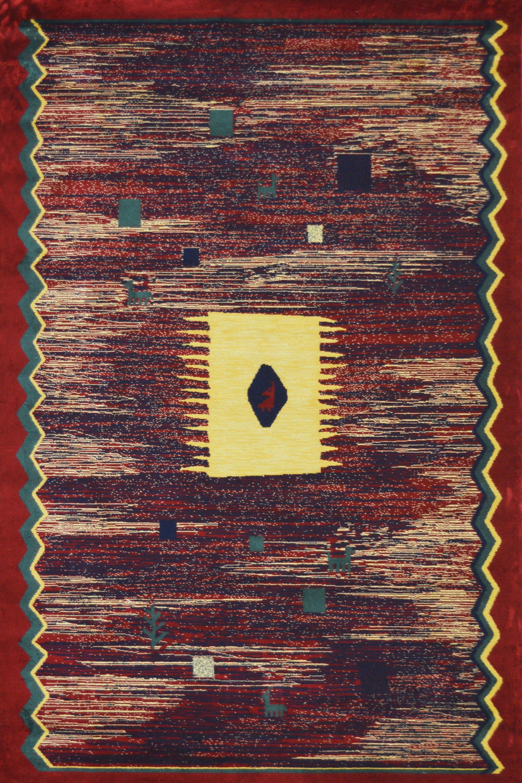 Χαλί Giseh 21/2 Rust 140X200