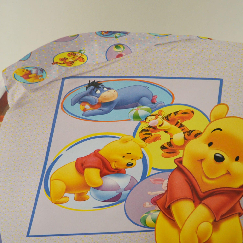 Παπλωματοθήκη Παιδική Winnie Circus Disney Μονό 160x230cm