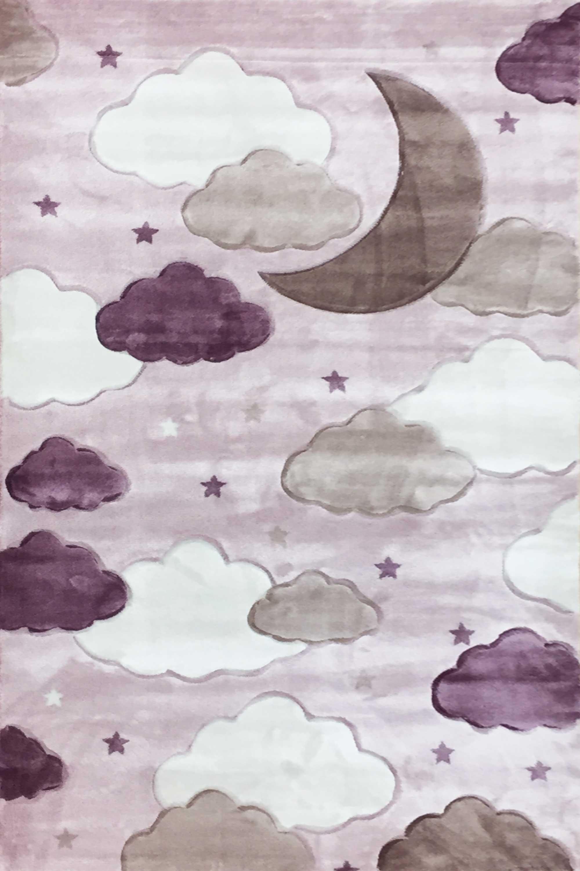 Χαλί Παιδικό Sky 6576A Lila Royal Carpet 160X230