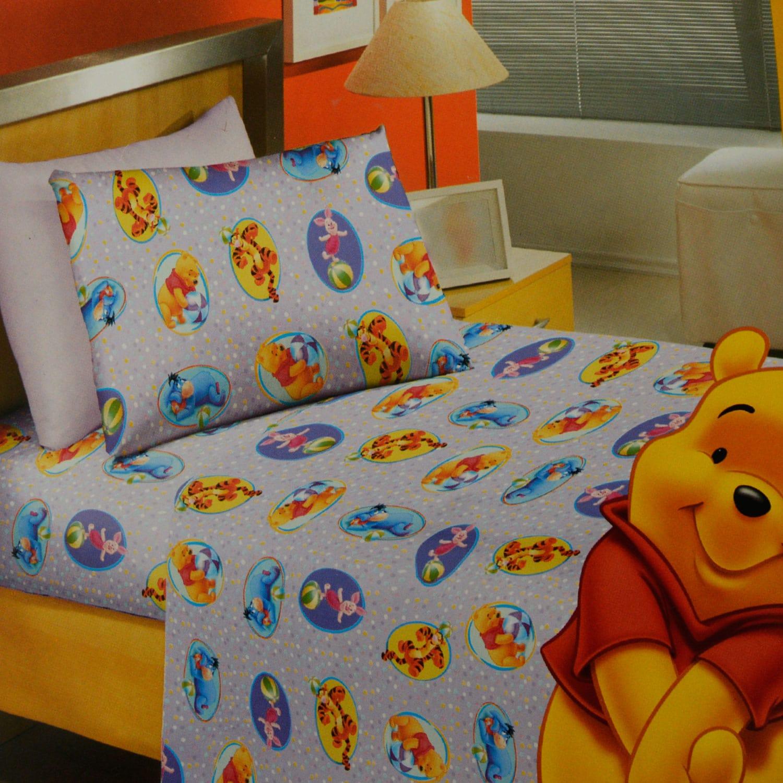 Σεντόνια Σετ Παιδικά Winnie & Circus Disney Μονό 160x250cm