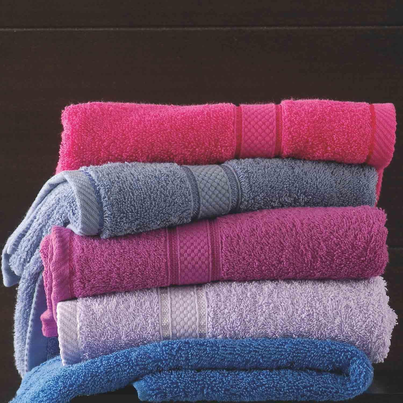 Πετσέτα Basic Blue Raf Ρυθμός Προσώπου 50x100cm