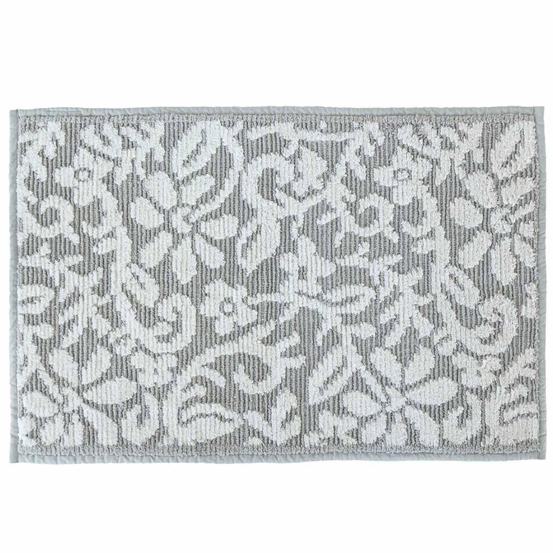 Πατάκι Μπάνιου Lindos 05542.002 Grey Large 60x90cm