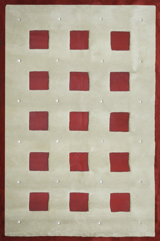 Χαλί Χειρόπ. 4683 Beige-Red 160X230