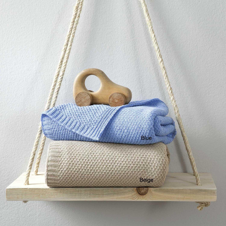Κουβέρτα Βρεφική Cuddle Beige Nima Κούνιας 110x150cm