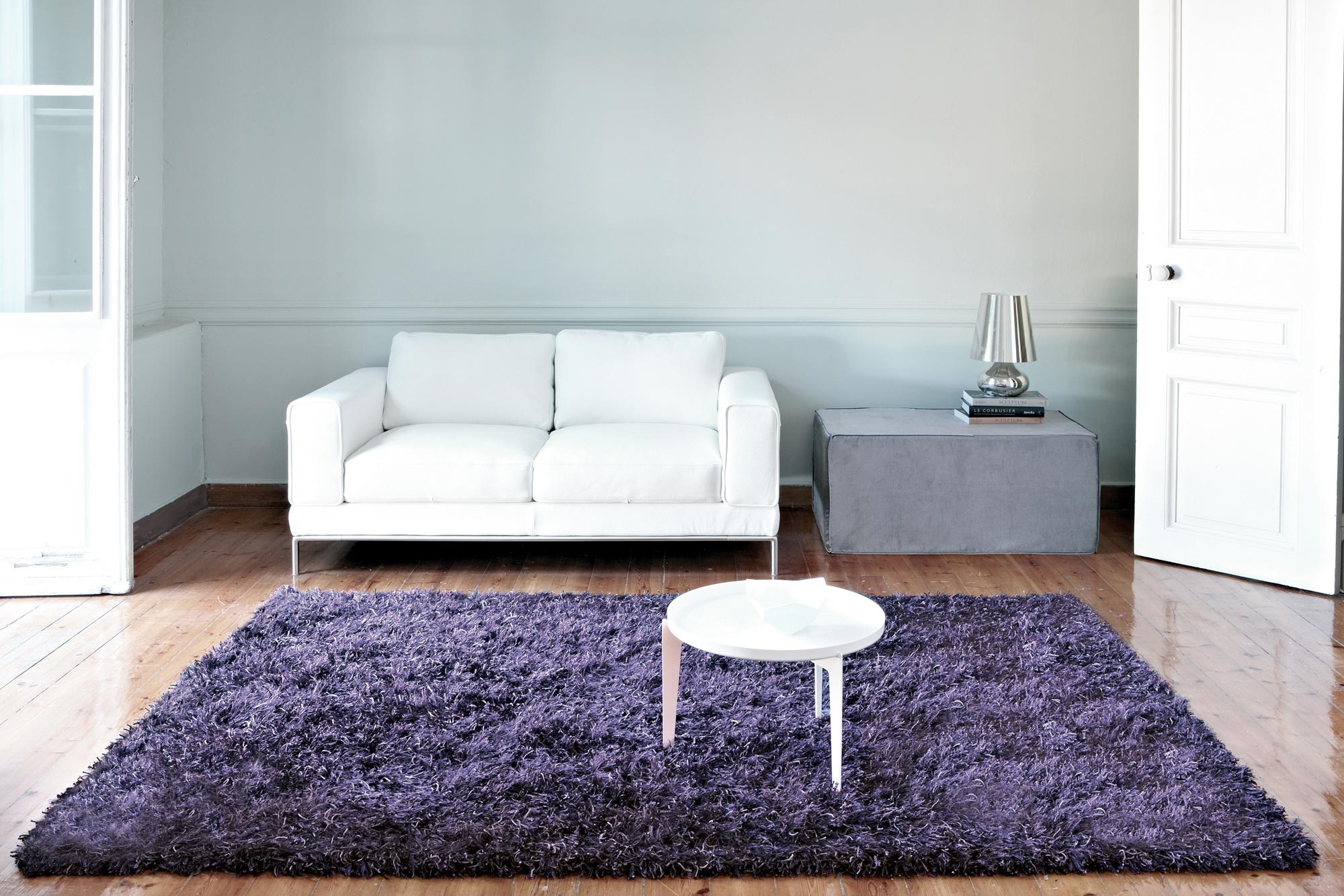 Χαλί Aslanis Shaggy Illusion Purple 140X200