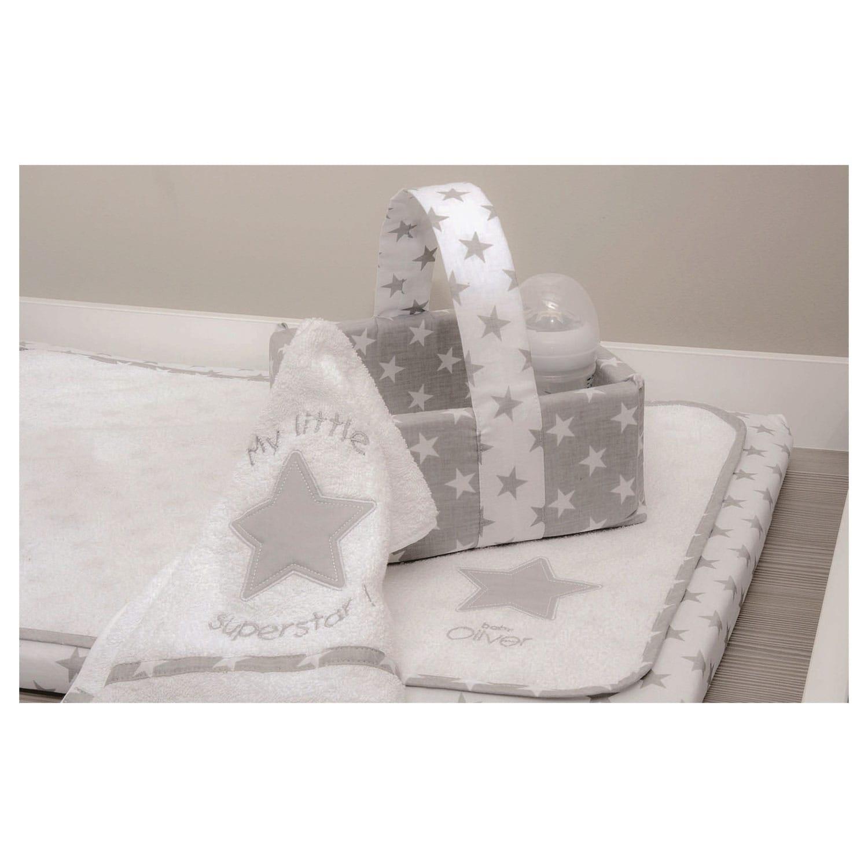 Κάλυμμα Αλλαξιέρας Με Σελτεδάκι Des.301 My Little Superstar Baby Oliver 60x90cm