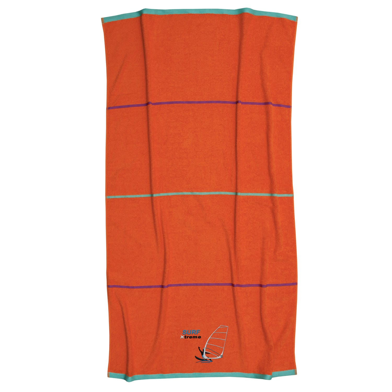Πετσέτα Θαλάσσης Surf Orange Anna Riska Θαλάσσης 90x160cm