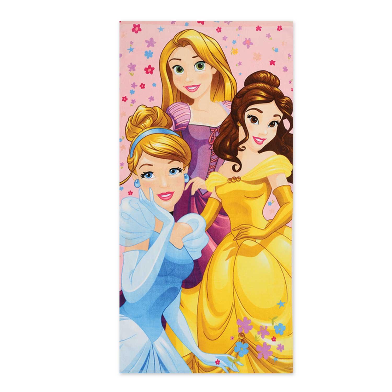 Πετσέτα Παιδική Θαλάσσης Princess-Diamonds Nef-Nef Θαλάσσης 70x140cm