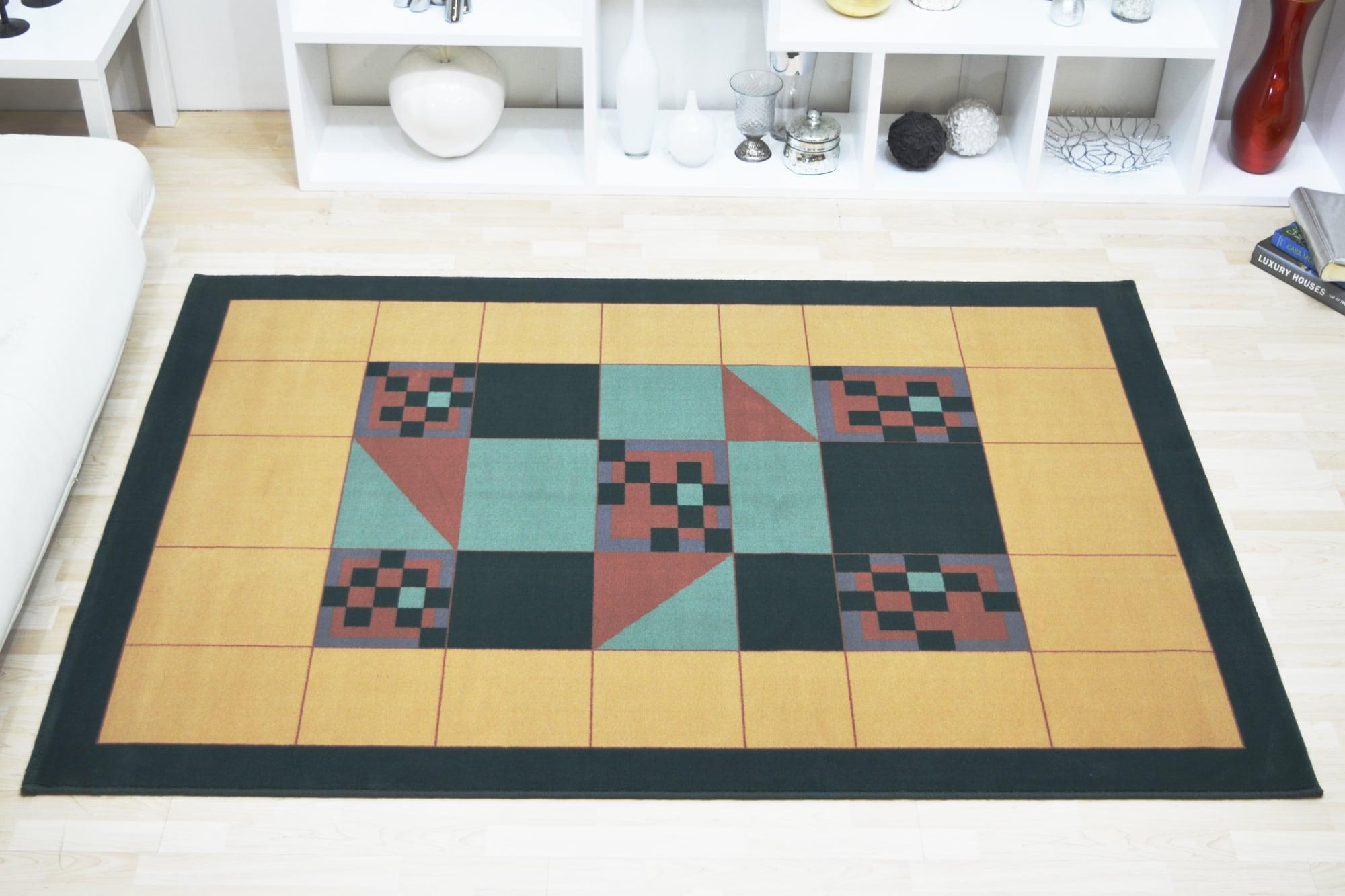Χαλί Moda Topcarpet Modern 009 Green-Taba 160X230