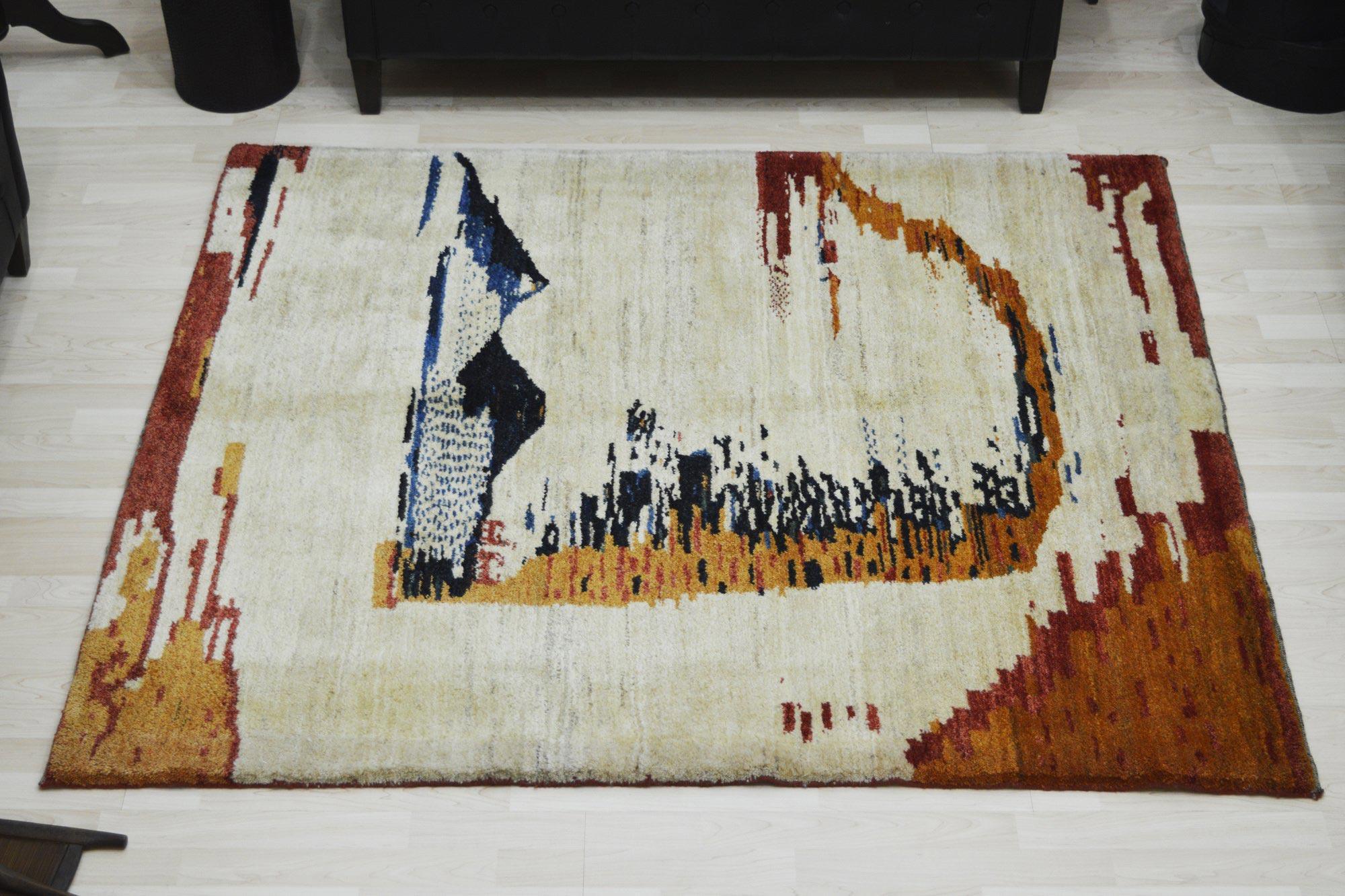 Χειροποίητο Χαλί Persian Gabbeh C Wool 156Χ182 140X200