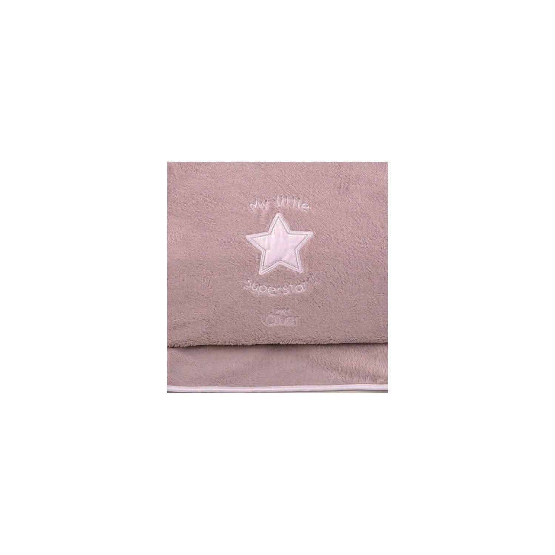 Κουβέρτα Βρεφική Fleece Des.301 My Little Superstar Baby Oliver Κούνιας 100x140cm
