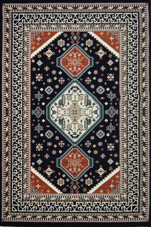 Χαλί Barok Safak Blue-Somon 200X300