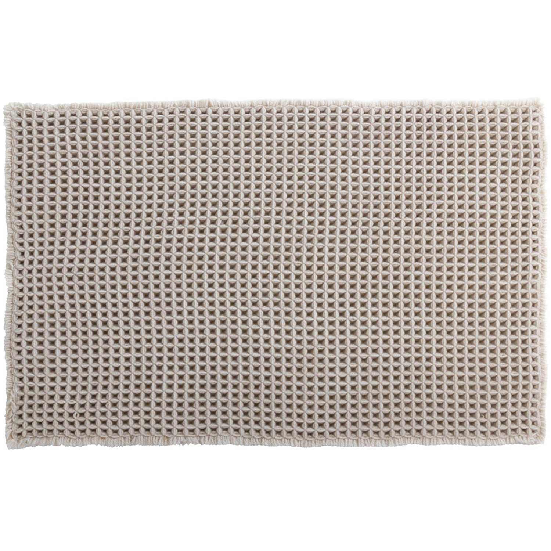 Πατάκι Μπάνιου Gauffre 05632.002 Beige Spirella Medium 50x80cm