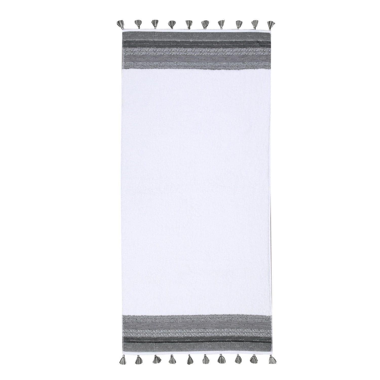 Πετσέτα Authentic Grey Nef-Nef Προσώπου 50x90cm