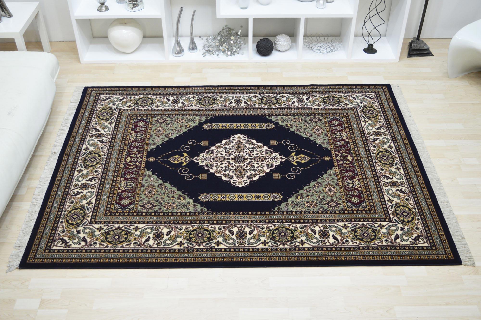 Χαλί Roubayat Sumak 10-10 Blue 200X250