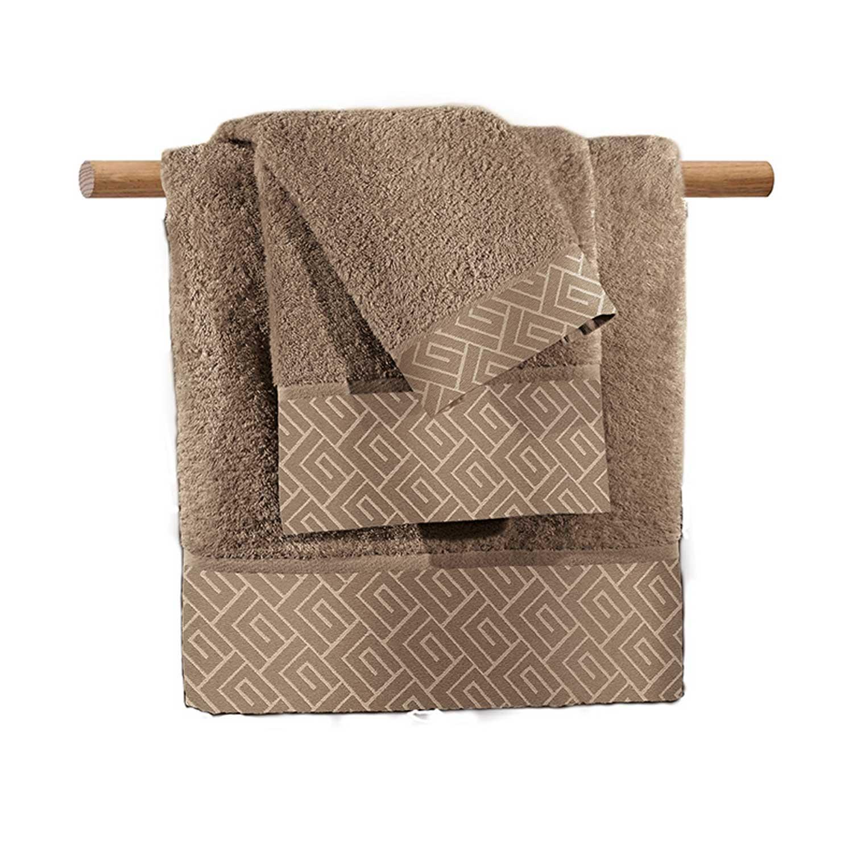 Πετσέτα Famous Wenge Guy Laroche Σώματος 90x150cm