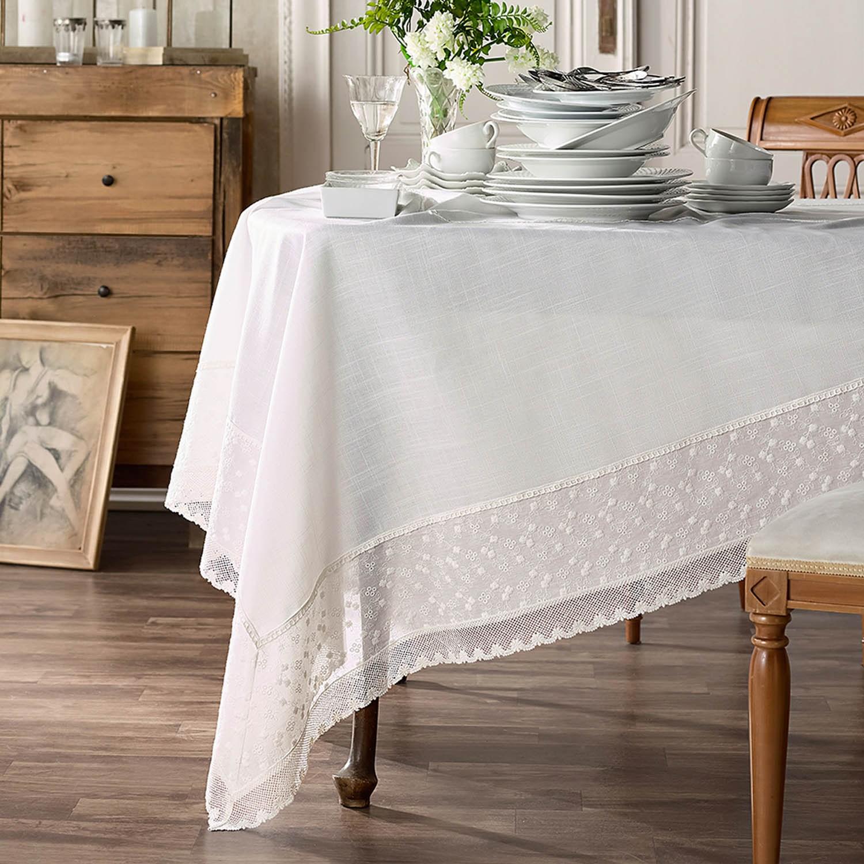 Τραπεζομάντηλο 326/05 White Gofis Home 150Χ300