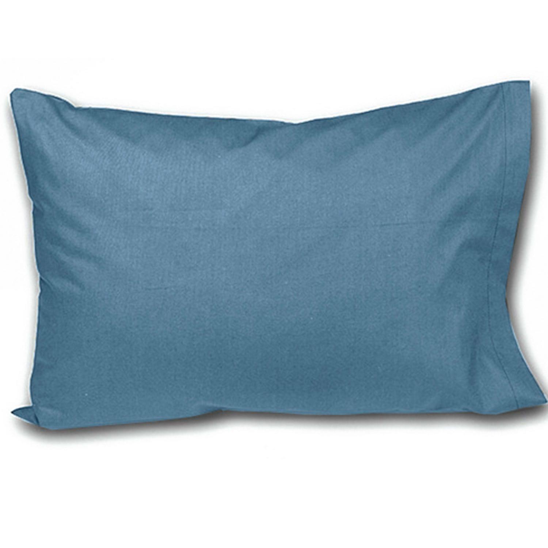 Σεντόνι Unicolor Blue Με Λάστιχο Nima Υπέρδιπλo 160x200cm