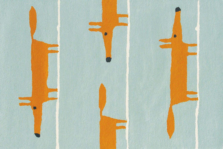 Χαλί Mr Fox Aqua 25308 Scion 140X200