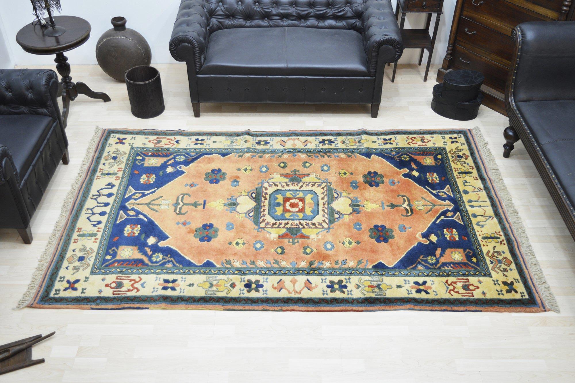 Χειροποίητο Χαλί Turkish Terekeme Wool 264Χ160 160X230