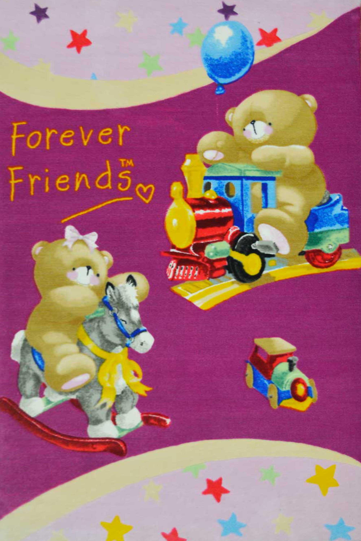 Χαλί F-Friends Printed 6101 Fuchsia 160X230