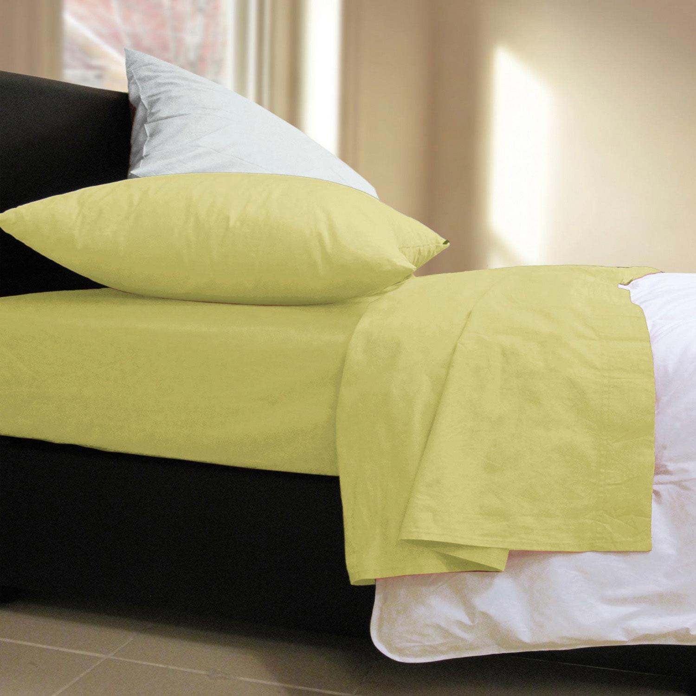 Σεντόνι Basic Lime Nef-Nef Μονό 170x270cm